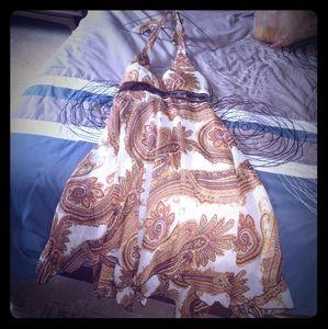 Woman's pasley dress